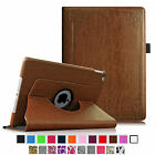 360 Rotating Premium PU Leather Smart Case Stand Cover Sleep/Wake for Apple iPad