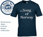 Worn By David Bowie Song Of Norway T-Shirt Tribute to the new album SML - XXL