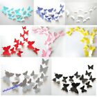 New Art Decal Home Decor Room Wall Stickers 3D Butterfly Stickers Decorations