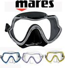 Mares PURE VISION Single Lens Silicone Wide View Diving / Snorkeling MASK + Box