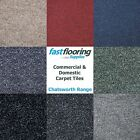 Quality Carpet Tiles 5m2 Box - Commercial / Domestic - Retail - Office Flooring