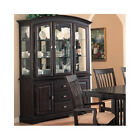 8 Piece Dining Room Set Buffet And Hutch Modern China Cabinet Sideboard Formal