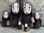 Studio Ghibli Spirited Away Kaonashi No Face Faceless Plush Doll Pillow 3 Sizes