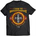 9248 I Aim To Misbehave T-Shirt Serenity Firefly Browncoat Blue Sun Corporation