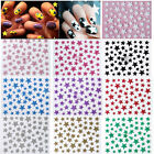 Nail Art Decals Sticker Bride Glitzer Stars Shiny Party Chic Style
