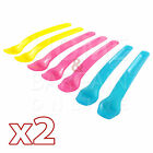 2 X 7Pc WEANING SPOONS BPA FREE BABYTODDLER BOY GIRL TRAINING  FEEDING SPOON SET