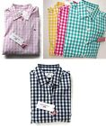 NWT Vineyard Vines Women's Gingham Shirt Checked Plaid Sz 0 4 6 8 10 16