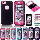 """Shockproof Rugged Hybrid Rubber Hard Cover Case For Apple iPhone 6/6s Plus 5.5"""""""