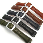 Leather Watch Strap Band for Swatch Irony Chrono 19mm by CONDOR Camel Grain SC14