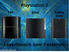Playstation 3  PS3      Fat ,Slim, Super Slim  REPARATUR LASER,LAUFWERK
