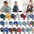 """50 Styles"" Vaenait Baby Toddler Boys Clothes Sleepwear Pajama 2 pcs Set 2T-7T"