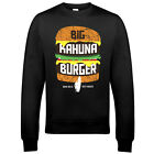 9037 Big Kahuna Burger Sweatshirt Pulp Fiction Death Proof Reservoir Dogs