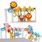 Hot Car Plush Bed Crib Hanging Bell Newborn Kids Educational Rattles Mobile Toys