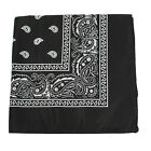 Unisex Paisley Bandanna Double Side Head Wrap Headband Neck Scarf Wristband