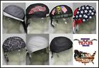 Lined Skull Cap, Biker Bandanna, DO-RAG, DOO RAG, DU RAG Food Service Sweat Band