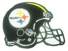 New NFL Pittsburgh Steelers Logo Football embroidered iron on patch.