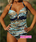 Sexy Chain Print green One Piece MONOKINI SWIMSUIT SWIMWEAR US SIZE M L XL