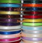 6 mm x 20m double sided satin ribbon plenty of colours available 6MM SIZE SATIN