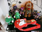 WIGGLES PLUSH TOYS TALKING HENRY DOROTHY CAR BEANIE HENRY MURRAY'S GUITAR