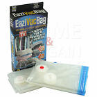 VACUUM STORAGE BAG CLOTHES BEDDING PLASTIC 2PC SEAL BAGS REUSABLE COMPRESS NEW