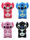 CUTE BOY GIRL 3D STITCH RUBBER SILICONE ONE PIECE CASE COVER for HTC ONE X
