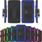 Armatus Gear Rugged Hybrid Armor Case Holster Combo Cover for Google Nexus 6