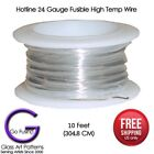 Hotline HTW High Temp Wire 17 or 24 Gauge 10 feet Ceramics Glass Fusing Supplies