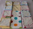 Muslin Waterproof Flannel with oilcloth 100% Cotton 50x60cm 20/24in Nappy Bibs