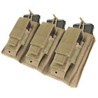 Condor MA55 MOLLE Triple Kangaroo 5.56 or .223 Rifle + Pistol Mag Pouch