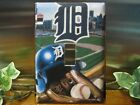 Detroit Tigers Light Switch Wall Plate Cover #5 - Variations Avaialble on Ebay