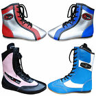 Leather Boxing Boots / Shoes Short & Long Anklet Boots Sizes Girls / Boys