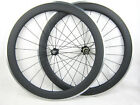 20.5mm width 60mm clincher carbon bicycle wheels alloy brake