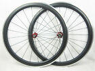 20.5mm width 50mm clincher carbon road wheels alloy brake