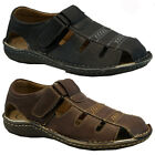 NEW MENS VELCRO WALKING SPORTS HIKING SUMMER BEACH MULES SANDALS SHOES SIZE