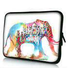 "Elephant 11"" 13"" 15"" Laptop Neoprene Waterproof Sleeve Case Soft Bag Pouch Cover"