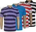 HUGO BOSS MEN'S GR FIPES STRIPE POLO SHIRT/ T-SHIRT S,M,L,XL,XXL NEW Was £75