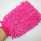 NEW Super Mitt Microfiber Car Window Washing Home Cleaning Duster Towel Gloves