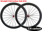 U shape R36 Straight Pull 50mm Clincher carbon wheels 20.5,23,25,27.5 rim width
