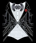 STAR WARS Liceneced mens t-shirt Imperial Tux Tuxedo style