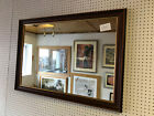 LARGE TRADITIONAL MAHOGANY WALL AND OVERMANTLE MIRROR - VARIOUS SIZES AVAILABLE