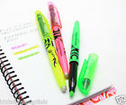 Pilot FriXion Light Erasable Hi-Lighter Green/Yellow/Pink SINGLE or 3 PACK