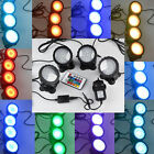 36 Led Fish Tank Pool Pond Garden Fountain Underwater Aquarium Spotlight Light