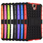 Hybrid Impact Armor Rugged Hard Case Stand Cover For HTC One E9+ E9 Plus
