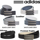 ADIDAS GOLF BELT MENS LEATHER GOLF BELT ADIDAS TROPHY BELT REVERSIBLE NEW *2015*