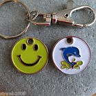 £1 Enamelled Shopping Trolley Coin ~ Smiley Face ~ Dolphin