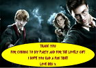 Children's Party Thank You Cards - Various pack sizes ~Harry Potter