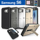 Samsung Galaxy S6 G9200 Case Cover TPU Builtin Kick Stand with screen protector