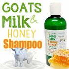 earthbody GOATS MILK & HONEY SHAMPOO ~ 100% PURE ~ NATURAL ~ ORGANIC.
