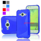 New S-Line Soft TPU Gel Case Skin Cover For Samsung Galaxy Xcover 3 G388F