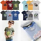 "Vaenait Baby 2T-7T Infant Clothes Short Toddler Kids Top Boys ""Printing T 3set"""